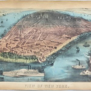 Currier & Ives View of Developing Manhattan 1