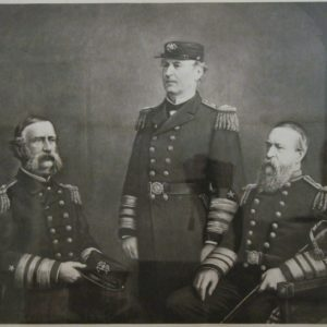 DH Anderson Photogravure Civil War Navy Admirals 1