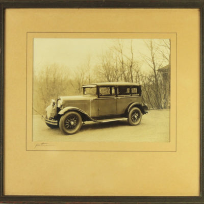 1929 DODGE Six SIGNED Photograph New York Car Auto Photo