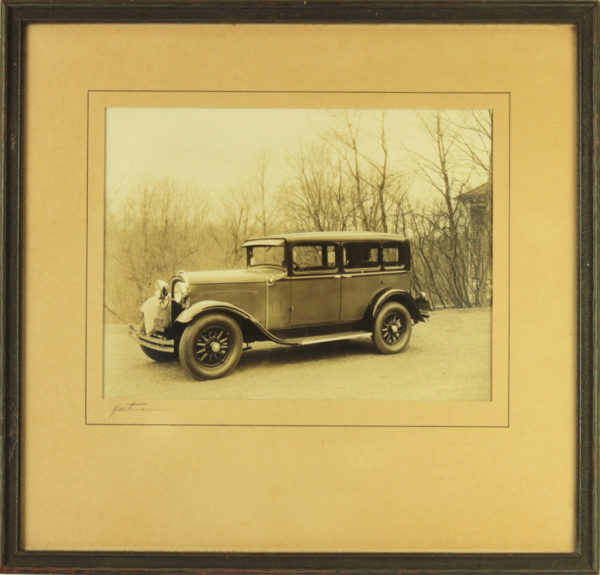 1929 DODGE Six SIGNED Photograph New York Car Auto Photo