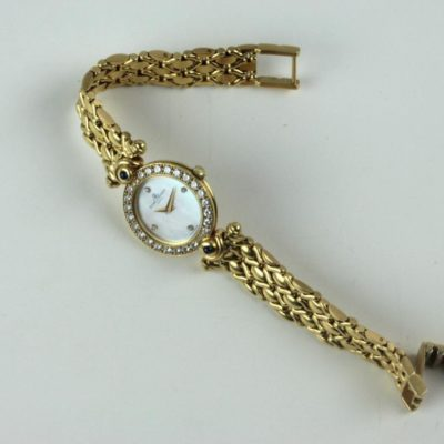 Baume & Mercier Geneve 18k Gold + Diamonds Ladies Watch