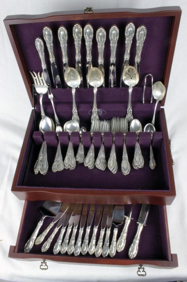 Charlemagne by Towle Sterling Silver Flatware Service for 8 + Serving Pieces