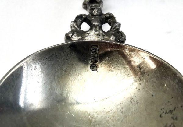 Dutch Douwe Egberts Coffee Tea Sterling Silver Sailing Ship Spoon
