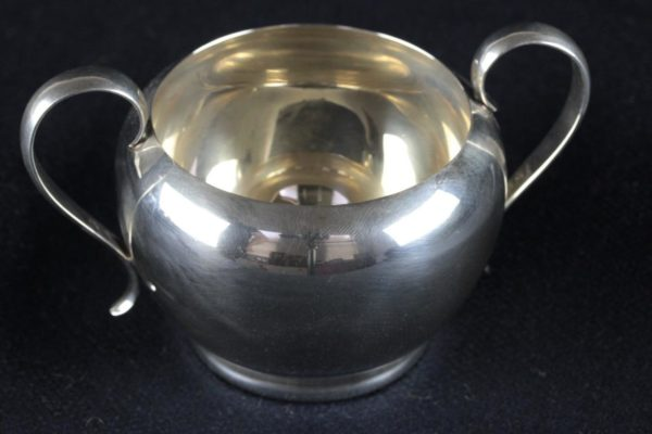 Gorham 392 & 393 2-Piece Sterling Silver Creamer & Sugar Set