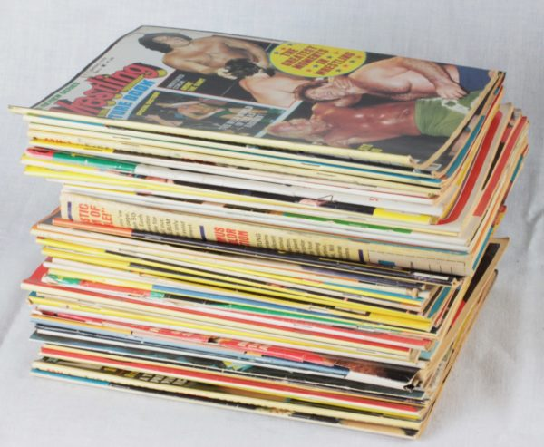 Wrestling Magazine Box Lot 2