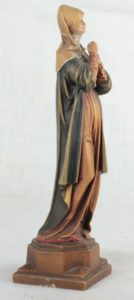 Carved Wood Madonna