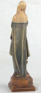 Carved Wood Madonna