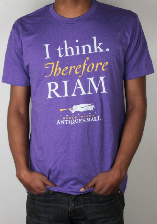 """""""I Think Therefore RIAM"""" T-Shirt"""