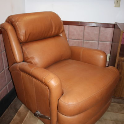 Whiskey Brown Sofa Chair