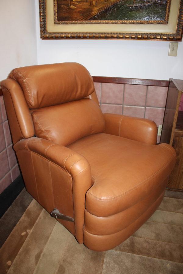 Whiskey Brown Sofa Chair