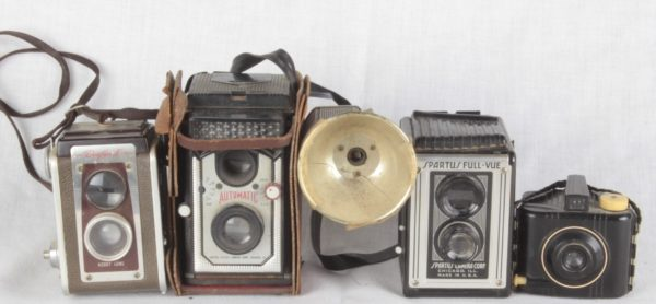Reflex and TLR (Twin Lens Reflex) Cameras
