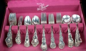 Strasbourg Gorham Sterling Silver Flatware Set 90 Pieces