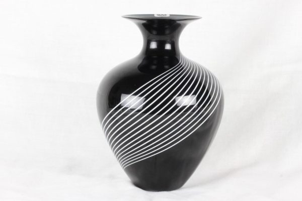 VeArt Italian Art Glass Vase Murano Venezia Italy Lino Tagliapietra Attr