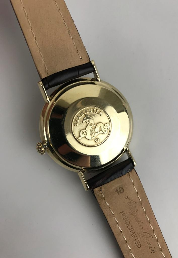 80f4068cb5fac Home   Shop Online   Jewelry   Watches   1960s Omega Seamaster Swiss 17j  10k Gf Gold Filled Automatic Mens Watch