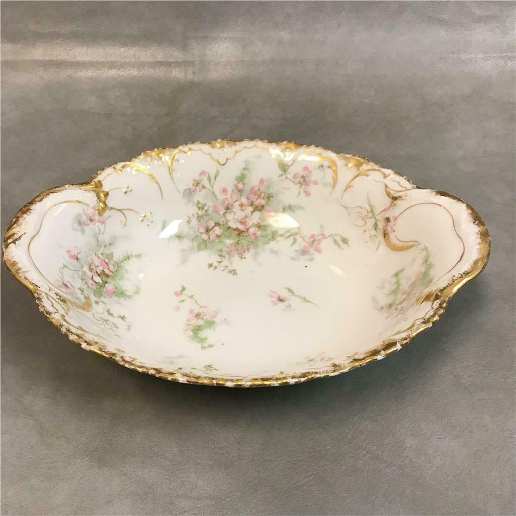 Theo Haviland Limoges Porcelain Apple Blossom 9