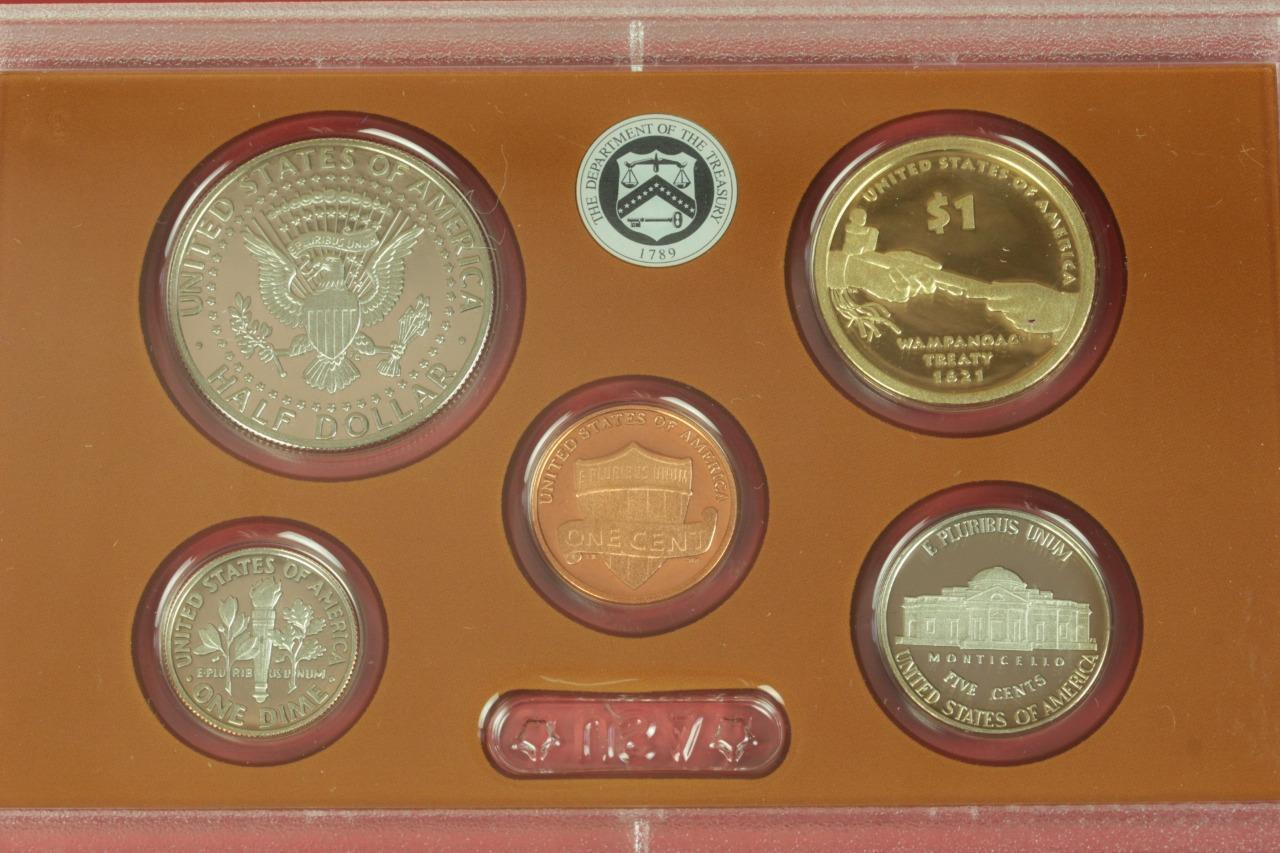 2011 U Mint Proof set 14 coin Set  Quarters President Box /& COA S