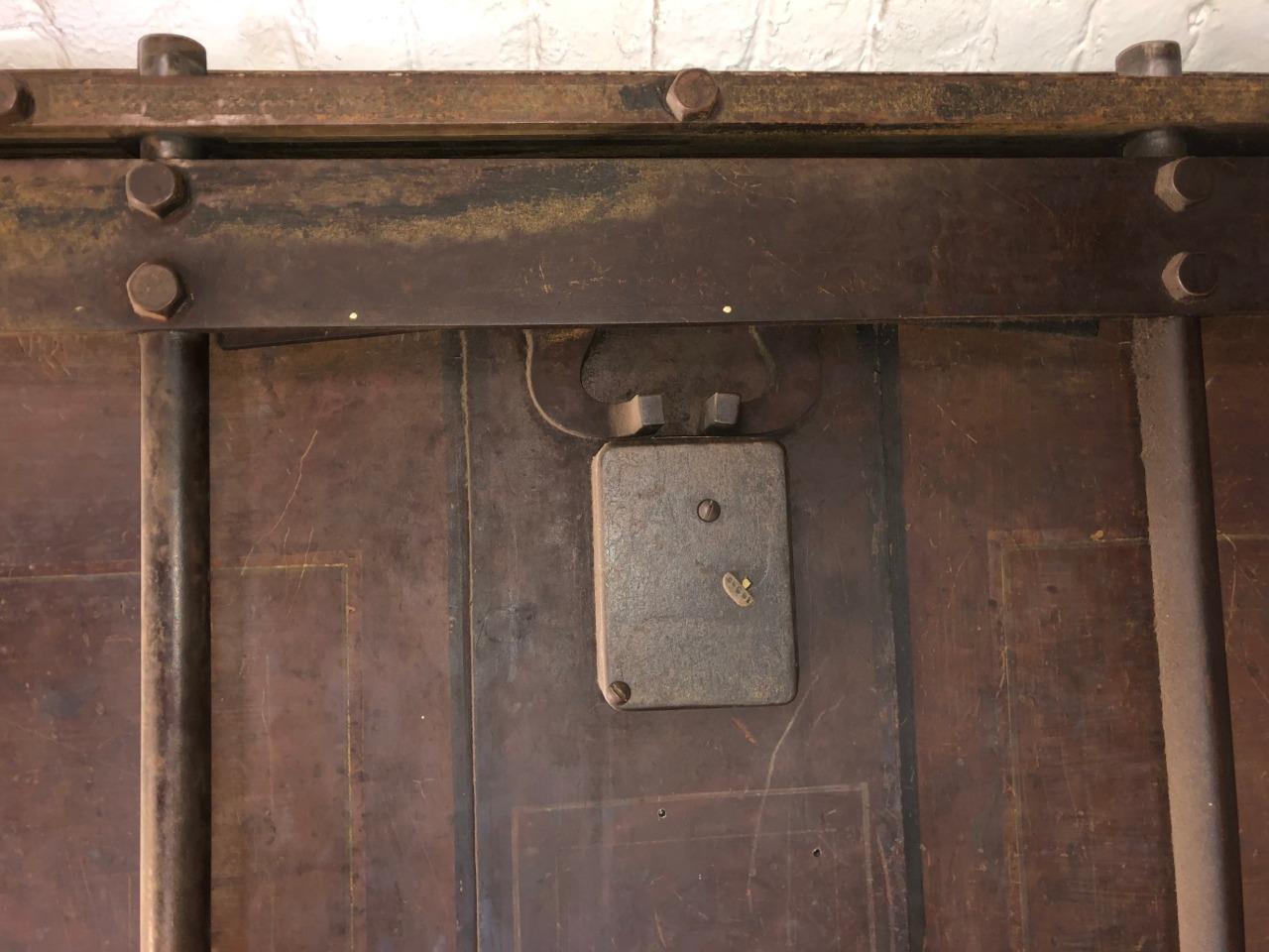 1870 Antique Complete Diebold Safe Vault Door Surround
